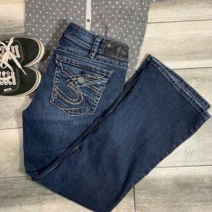 {Silver} suki surplus boot cut jeans